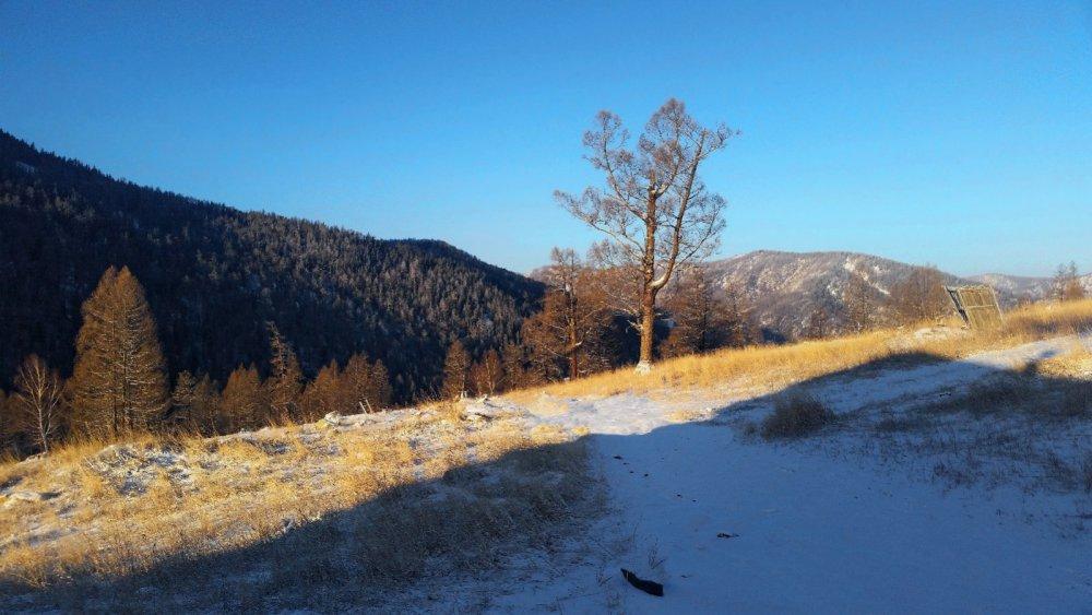 Спуск в долину