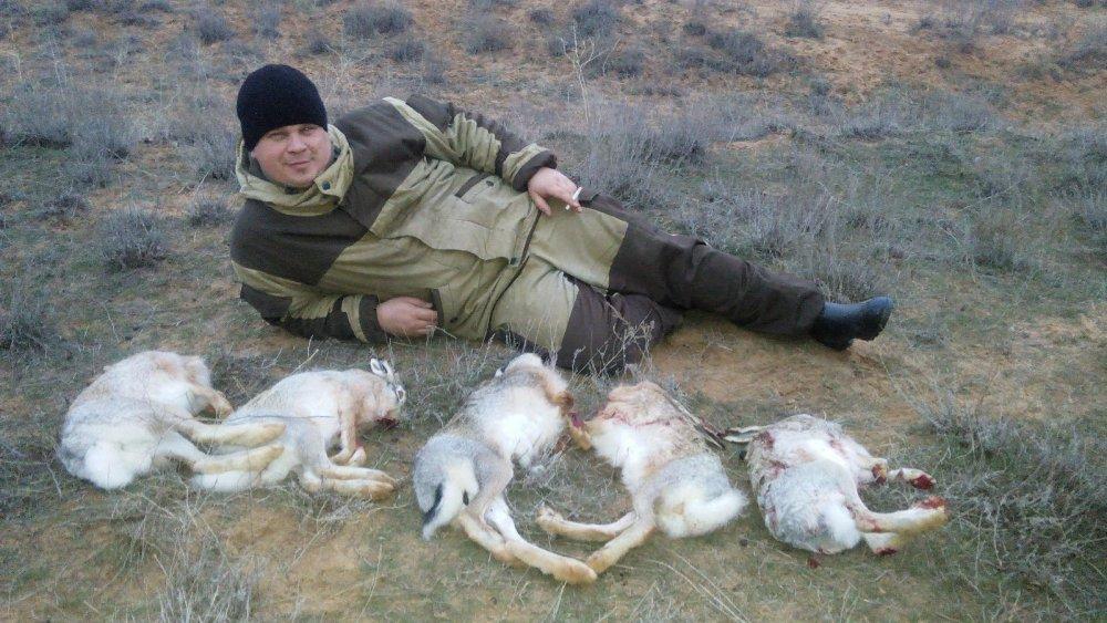 Результат охоты 3 января.