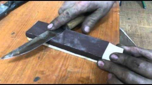 Как точить якутский нож. Версия кузнеца Говорова.