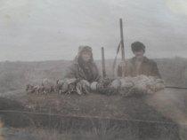 Старое,старое фото. 45 лет назад.Охота на северную.
