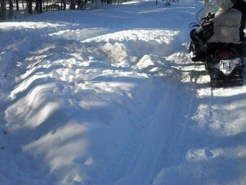 Снегоход это не только транспорт беспредельщика...