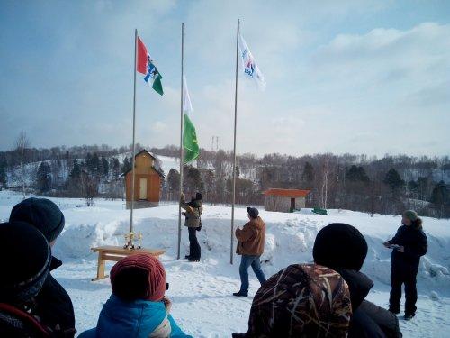 Весенний Кубок 2015. Поднятие флага. Начало.