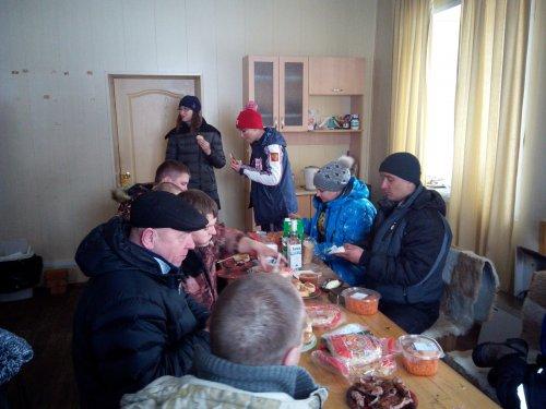 Весенний Кубок 2015. Застолье.