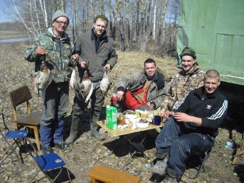 Главное на охоте не трофеи,а хорошее настроение и духовность!