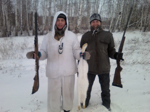 Открытие охоты на зайца 2013