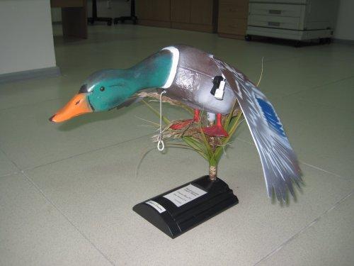 Механическая утка, искусственный камус.