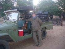 Мой намибийский приятель Рокки.