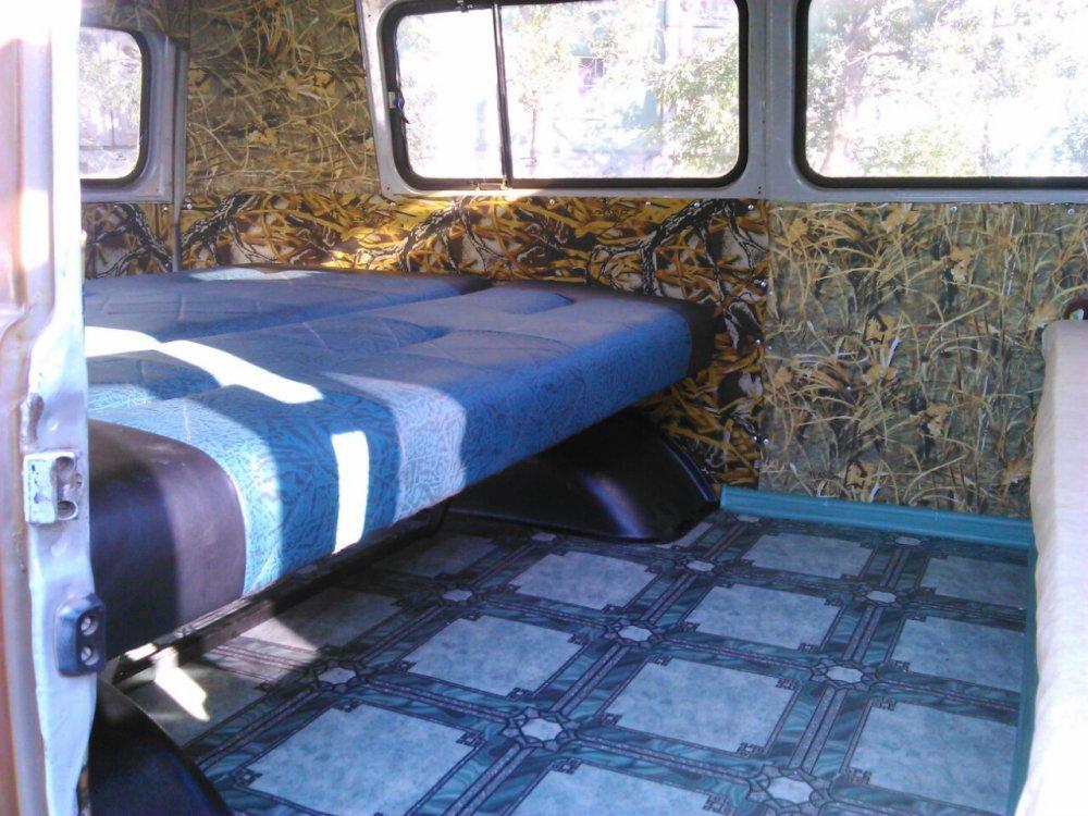 Раскладной диван в уаз.
