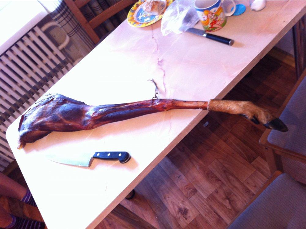 Копченая ножка Сибирской косули