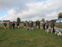 с. Мельниково , выставка собак .
