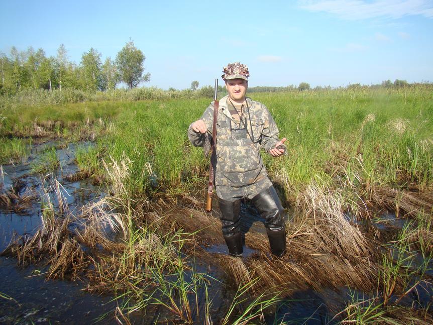 Авустовская болотно-луговая дичина))) Бекасик