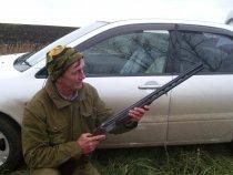 Интересное ТОЗ-34-20 в руках у знакомого охотника.