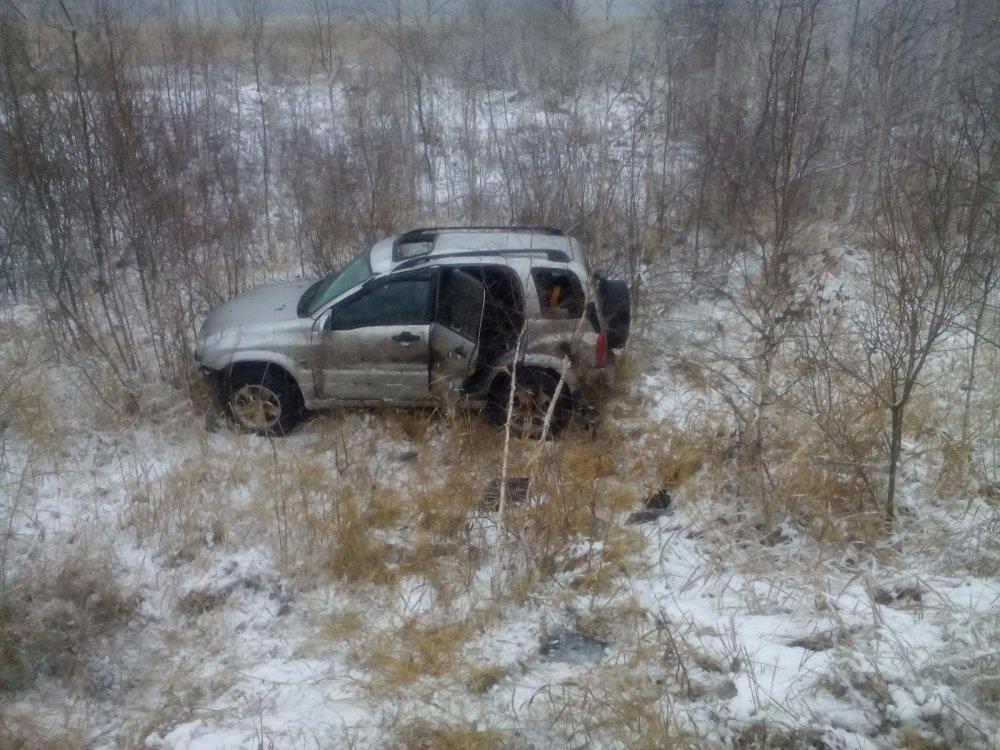 Коварный первый снег в Чулыме