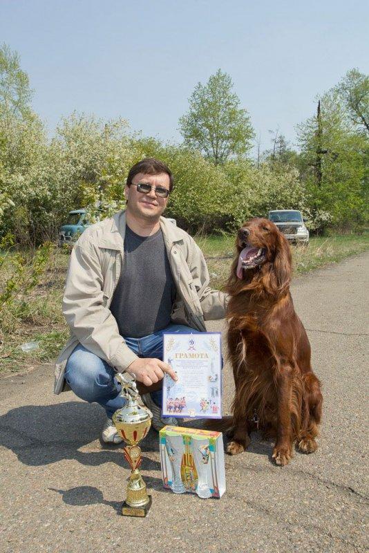 Городская выставка охотничьих собак-2014