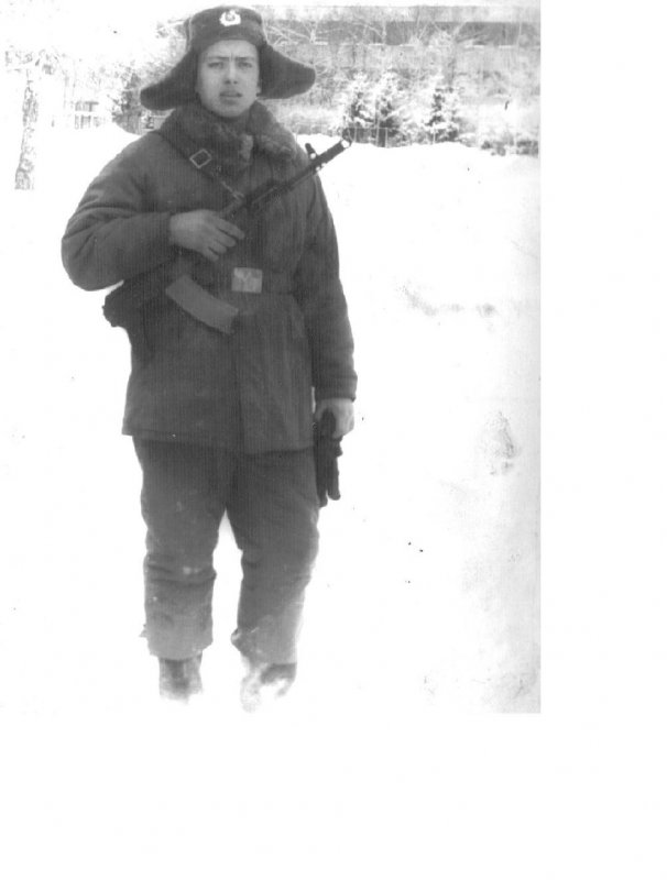 Для Бирюсы. Мое первое армейское фото. 1978 год. Литва. Гайжюнай