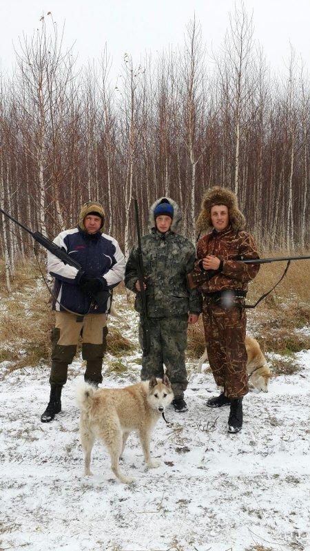 Выход с друзьями на охоту всегда радость!!!