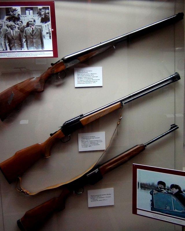Ружья в музее города Ижевск