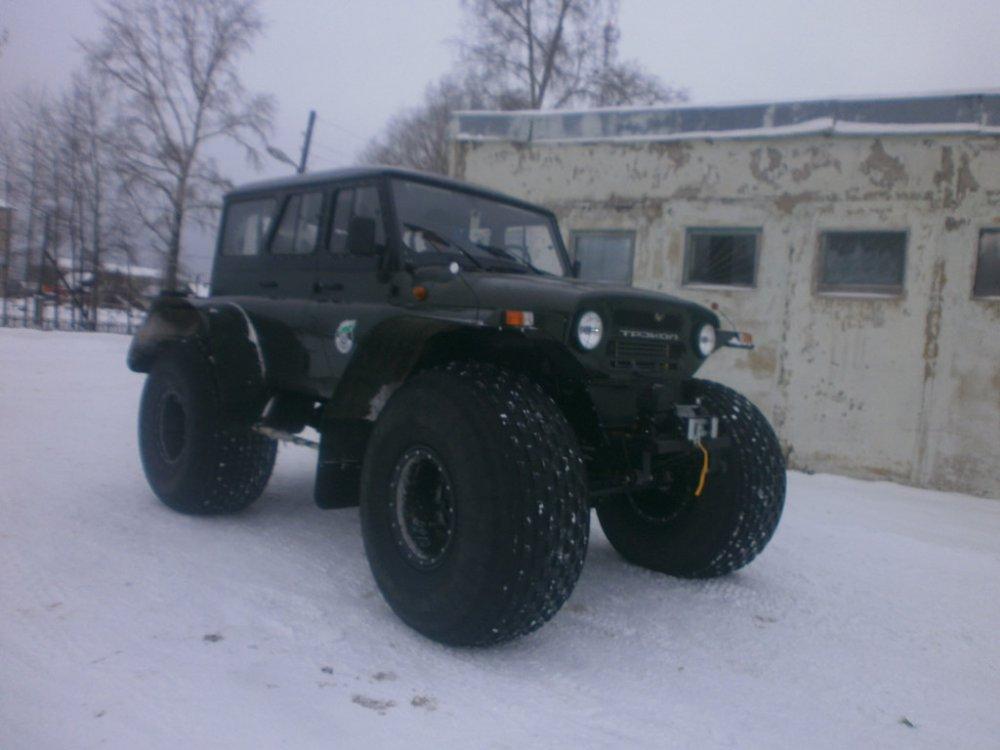 Снего-болотоход