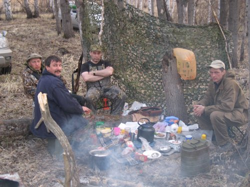 Весна 2007. Чулымский район НСО.
