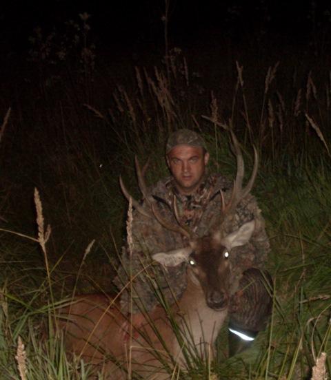 С охоты на оленя в гон