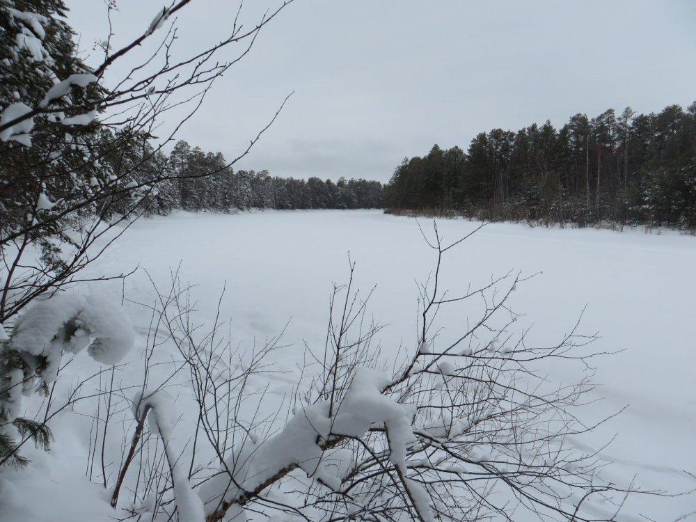 Айка-еган зимой