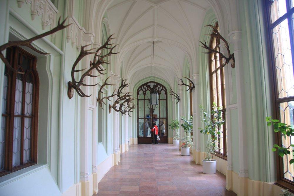 Охотничий замок Леднице, Чехия