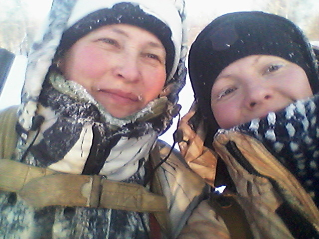 Мама и я))))