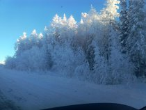 мороз 42градуса ,Усть-Кут