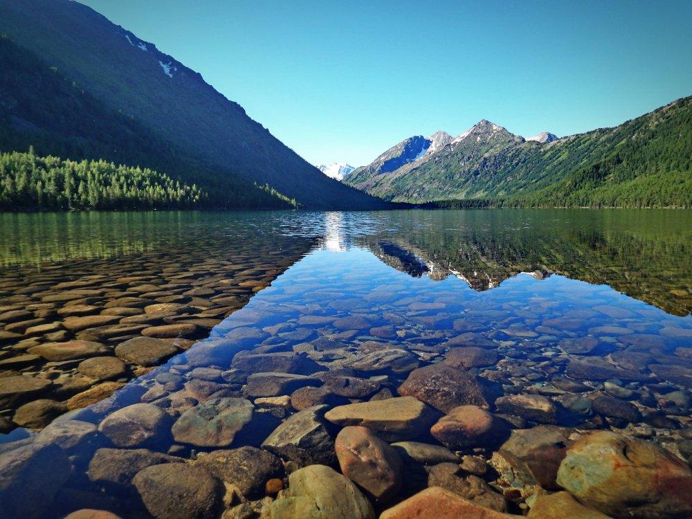 Озеро Мультинское Нижнее