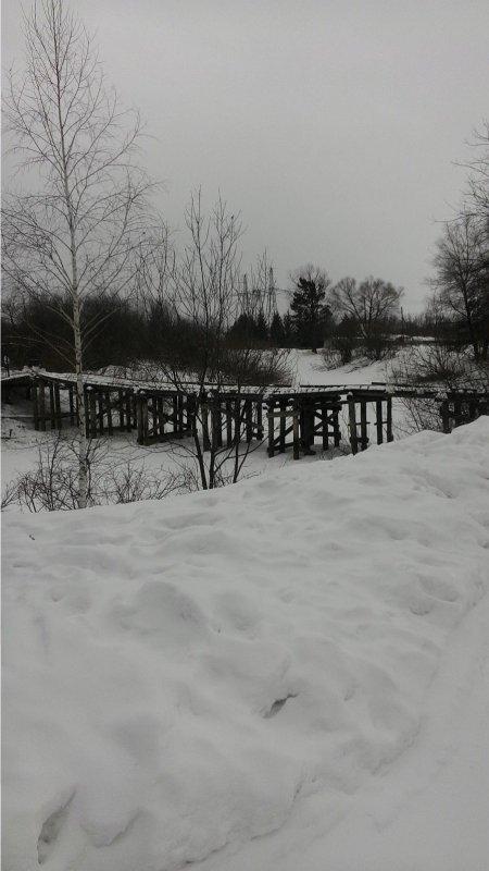 Мосток через Уень.