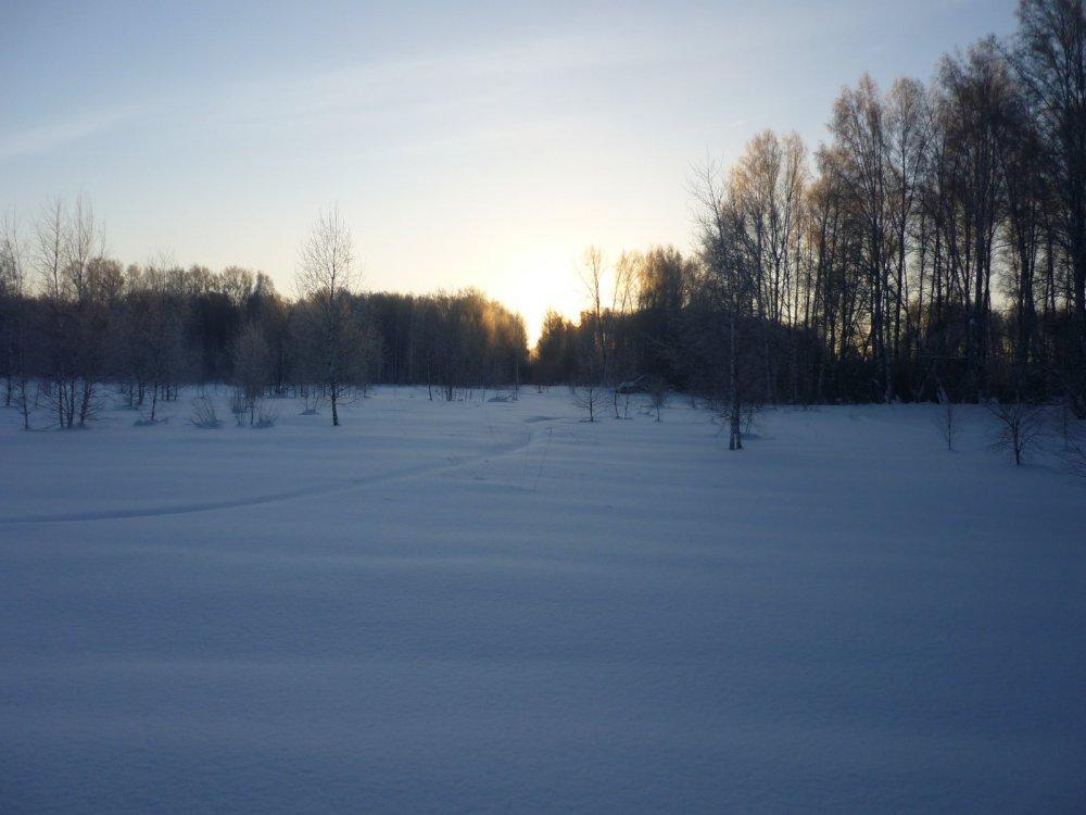 Зимний день короток.....,