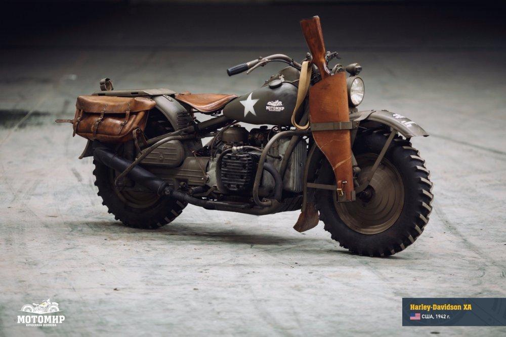 Harley-Davidson XA №1
