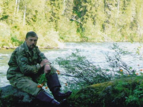 Река Бесь - июнь.