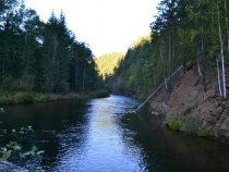 Речка Тойсук в августе.