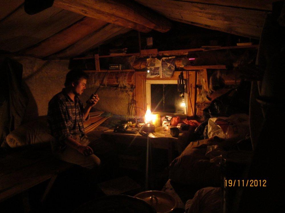 зимние вечера в тайге