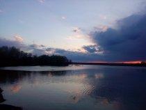 вечерком на речке
