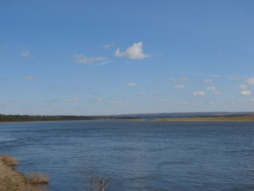 река Енисей, Широкий Лог