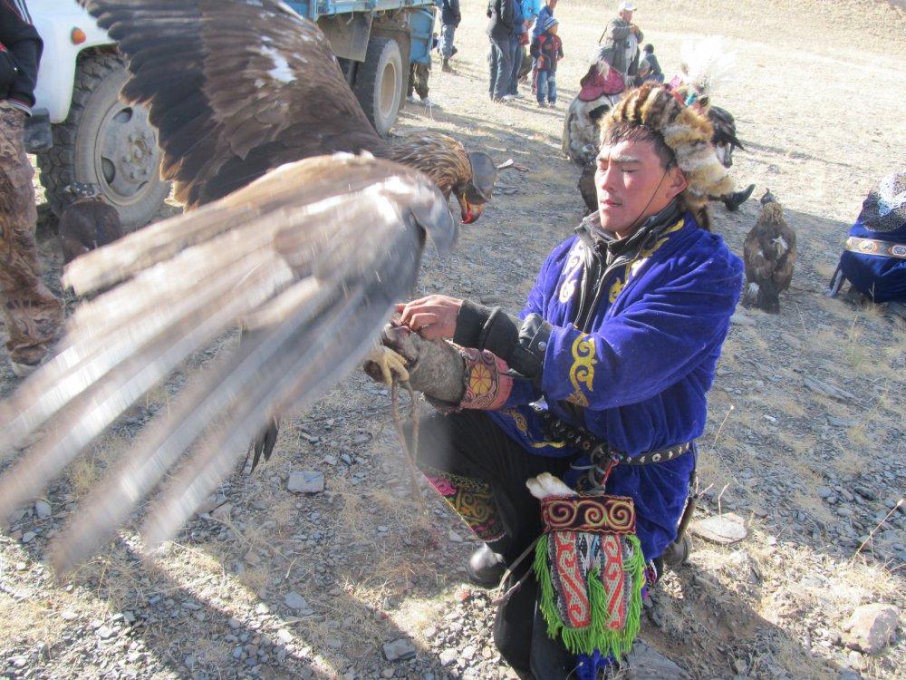 Забавы монгольских охотников