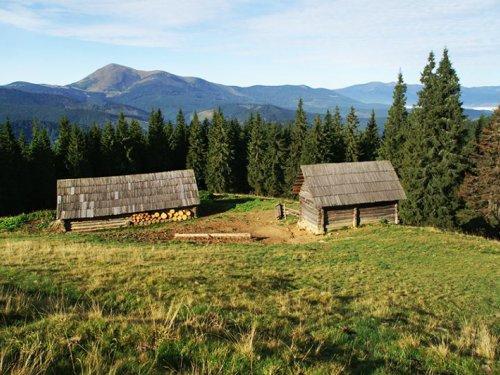 Горы и зимовья