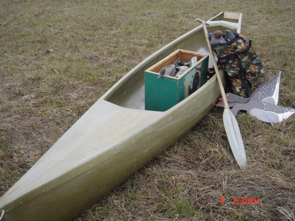Охотничья лодка.