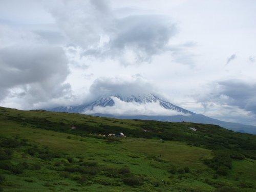 вулкан Острый Толбачик Камчатка июнь 2016