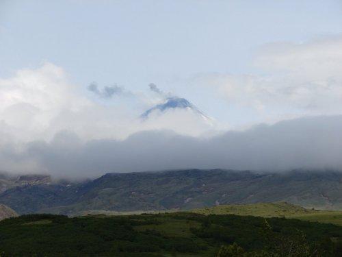 Ключевская сопка - самый высокий вулкан Евразии 4830 метров