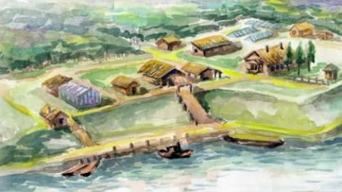 Обь-Енисейский канал заимка барона АМИНОВА