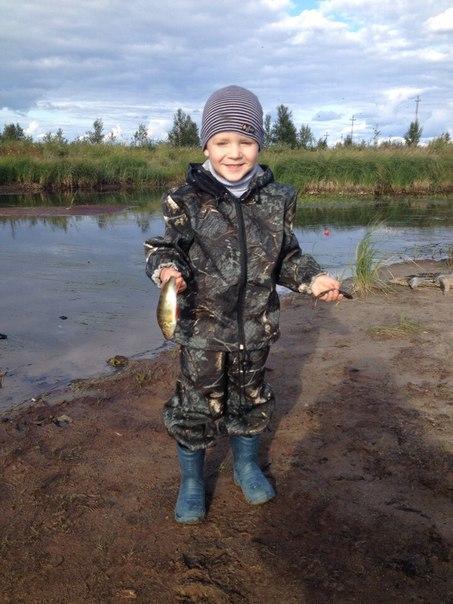 Что может быть лучше, чем проведенные выходные с сыном на рыбалке!
