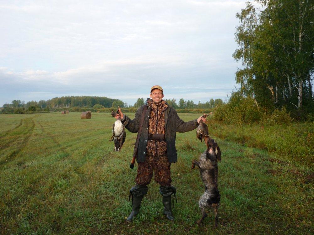 Вспоминая праздник Открытия охоты.......