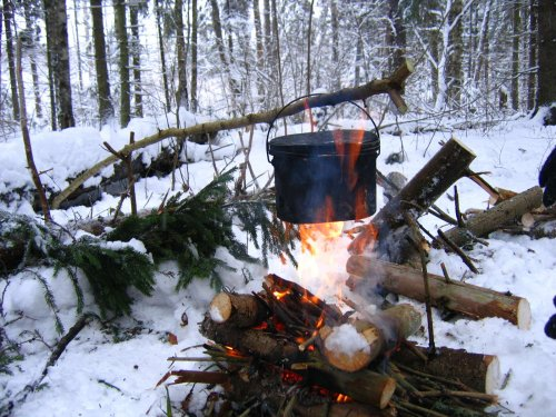 Угольные брикетные карандаши. Забытый способ получения тепла без дыма и пламени