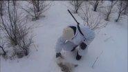 Охота на зайца зимой 2016