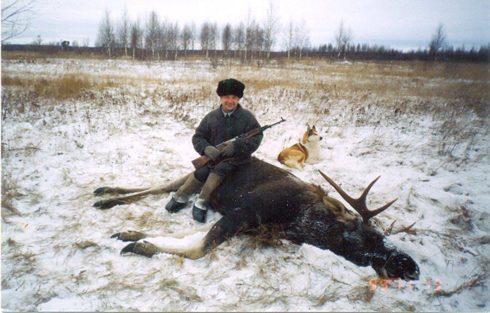 Удачный выстрел в Кировской области.