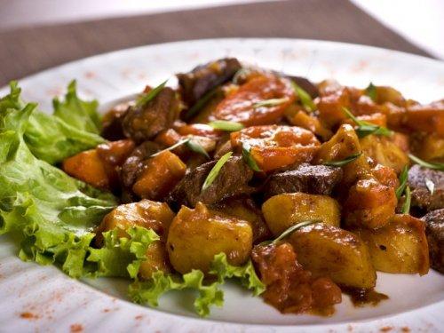 Как приготовить жаркое из мяса рыси