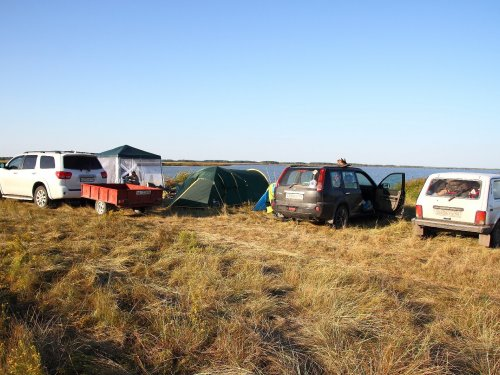 Наш лагерь...